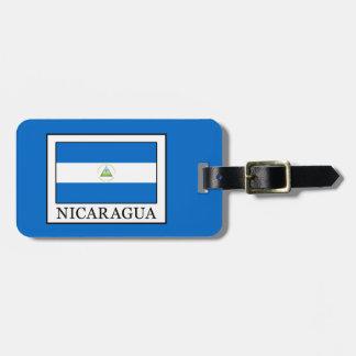 Nicaragua Luggage Tag