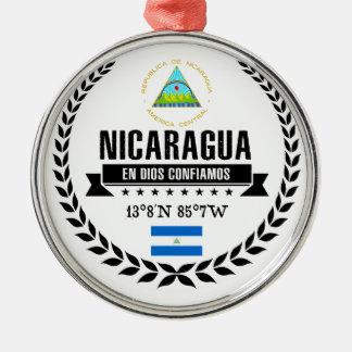 Nicaragua Metal Ornament