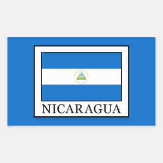 Nicaragua Rectangular Sticker
