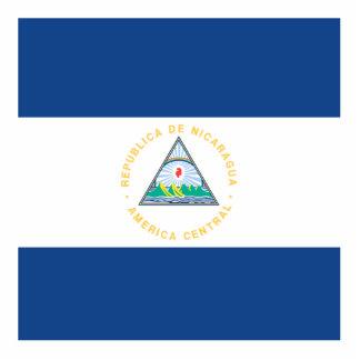 Nicaragua Standing Photo Sculpture