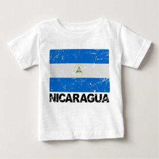 Nicaragua Vintage Flag Baby T-Shirt