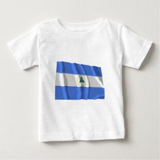 Nicaragua Waving Flag Baby T-Shirt