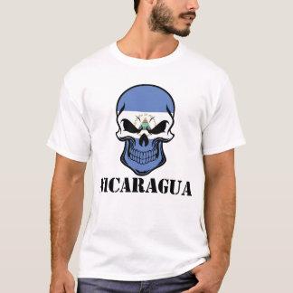 Nicaraguan Flag Skull Nicaragua T-Shirt