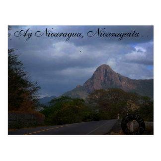 Nicaraguan Landscape Postcard