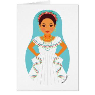 Nicaraguan Matryoshka Card