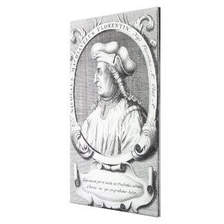 Niccolo Machiavelli, 1724 Stretched Canvas Prints
