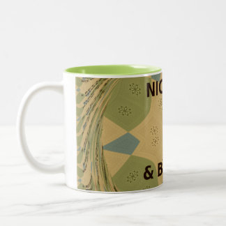 Nice and Better day Two-Tone Classic Coffee Mugs