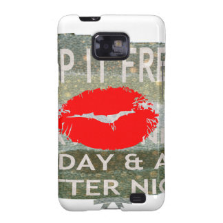 Nice and perfect save the date galaxy SII cover