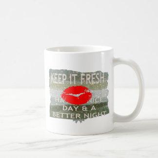 Nice and perfect save the date coffee mug