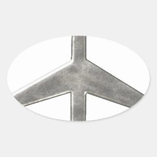 Nice And Plain Oval Sticker