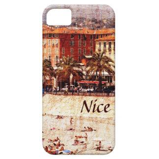 Nice beach, Provence i-phone case
