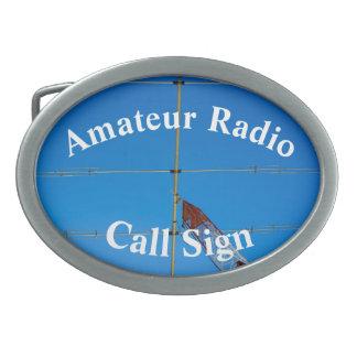 Nice Beam Antenna and Call Sign Belt Buckles