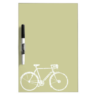 nice bicycle . biking . bike-themed dry erase board