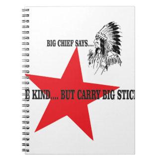 nice big stick bc spiral notebook