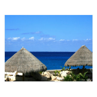 Nice Blue Ocean and Sky in Progresso Postcard