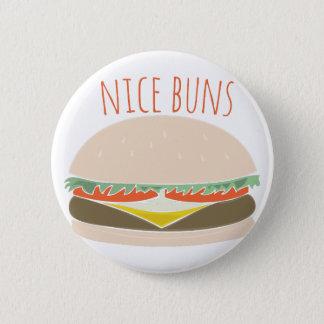 Nice Buns 6 Cm Round Badge