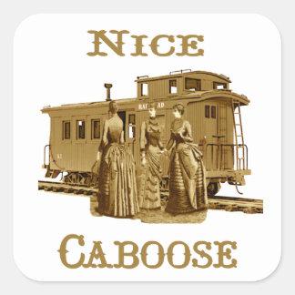 Nice Caboose Stickers