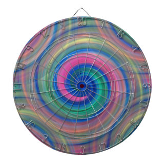 Nice candy swirl pattern with pink and purple dartboard