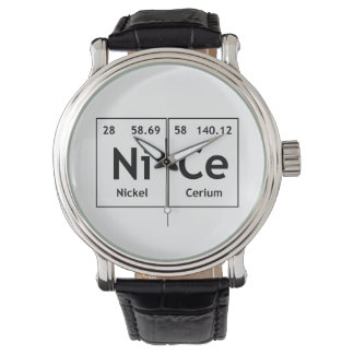 NiCe Chemistry Periodic Table Words Element Symbol Watch