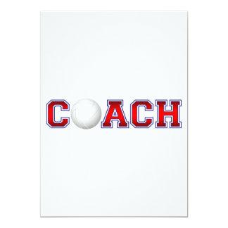 Nice Coach Volleyball Insignia 1 13 Cm X 18 Cm Invitation Card