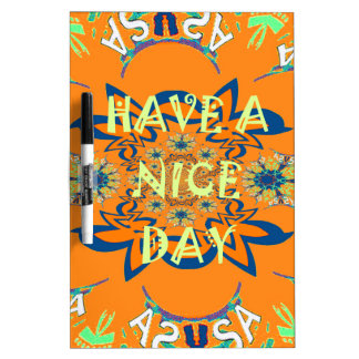 Nice day Beautiful baby dark pink floral  shade a Dry Erase Whiteboards
