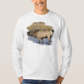 Nice Elk in the stream Shirts