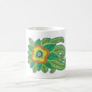 Nice flower coffee mug