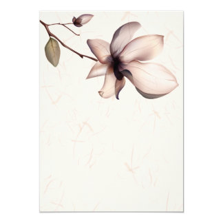 Nice Flower Painting Card