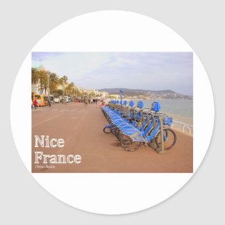Nice France #1 Classic Round Sticker