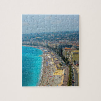 Nice France located in the French Riviera Jigsaw Puzzle
