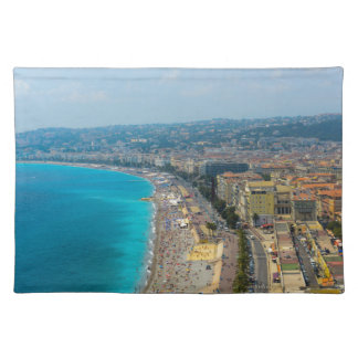 Nice France located in the French Riviera Placemat