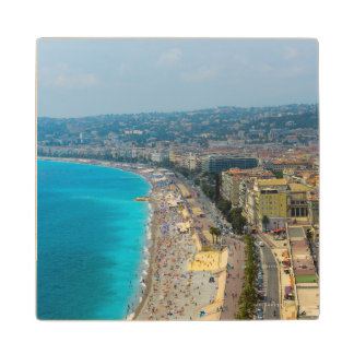 Nice France located in the French Riviera Wood Coaster