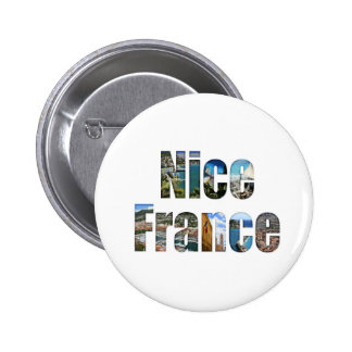 Nice France tourist attractions in letters Pins