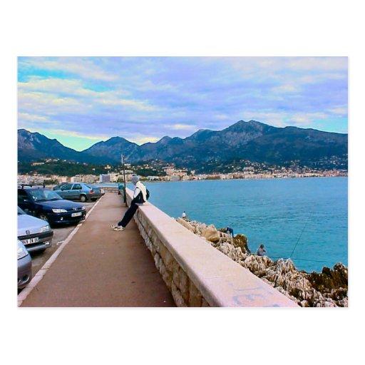 Nice, French Riviera, waterfront, Mediterranean Postcards