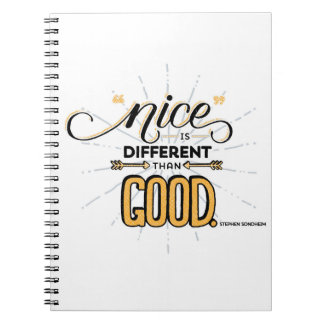 Nice is Different Than Good Notebook