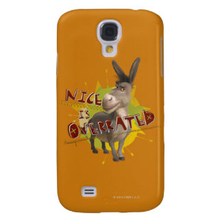 Nice Is Overrated Samsung Galaxy S4 Cases
