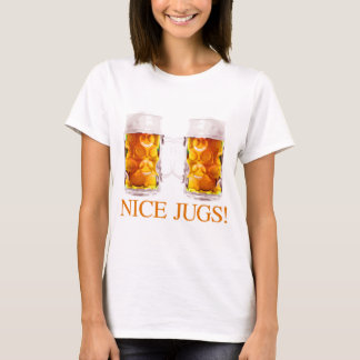 Nice Jugs Beer Glass T-Shirt