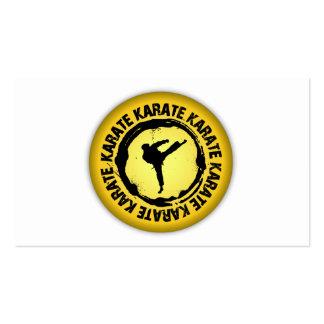 Nice Karate Seal Pack Of Standard Business Cards