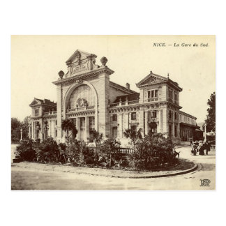 Nice - La Gare du Sud Postcard