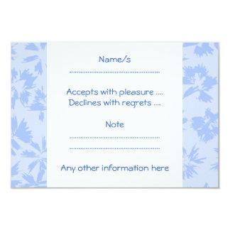 Nice light blue floral pattern. card