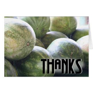 Nice Melons! card