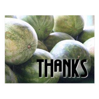 Nice Melons! postcard