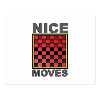 Nice Moves Postcard