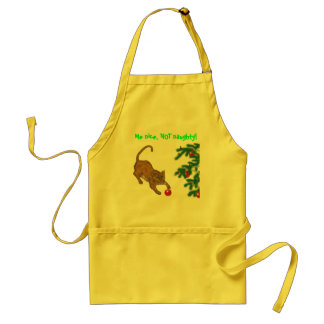 Nice, NOT naughty! Standard Apron