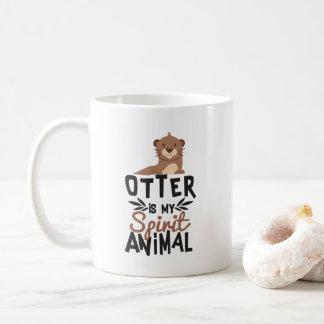 Nice Otter Is My Spirit Animal Print Coffee Mug
