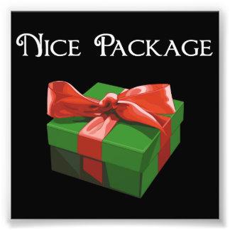 Nice Package Christmas Present Photographic Print