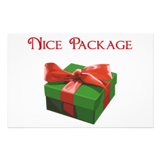 Nice Package Christmas Present Stationery Paper