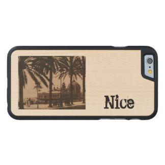 Nice Palais de la Jetéee Casino Carved® Maple iPhone 6 Case