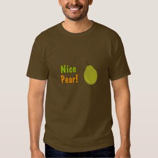 Nice Pear! Fruity Design Tee Shirt