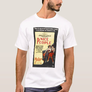 Nice People 1922 Silent Movie Poster T-Shirt